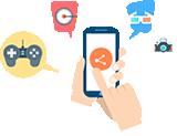 用戶互動 口碑營銷 嗨爆人氣 趣味互動